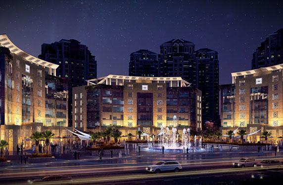 اعمار الشرق الأوسط تطلق ثالث مباني مجمع اعمار سكوير التجاري في باب جدة Ra2ed