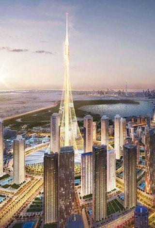 سيكتمل Creek Horizon أطول برج في خور دبي في سنة 2020 Ra2ed