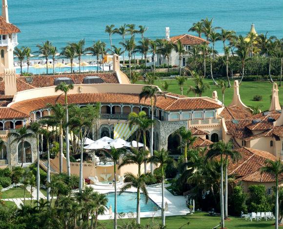 القوا نظرة على منتجع ومنزل Donald Trump الفاخرين، في فلوريدا!