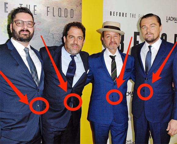 هذا هو السبب الغريب وراء عدم إغلاق الزر السفلي لبدل الرجال