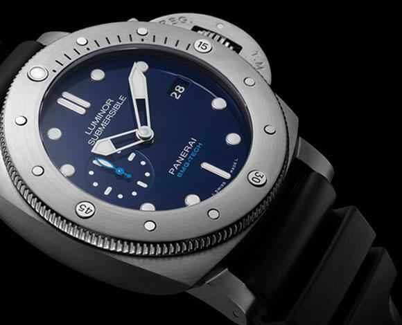 آخر ابتكارات Panerai: نظرة على ساعة luminor Submersible 1950 range