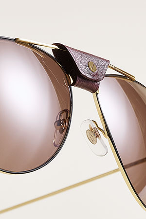 تصاميم معاصرة لمجموعة نظارات Santos De Cartier
