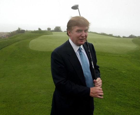 """دونالد ترامب يشتري منتجع الغولف الاسكتلندي الشهير """"تيرنبيري"""""""