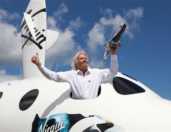 ريتشارد برانسون سينتج طائرة أسرع من الصوت