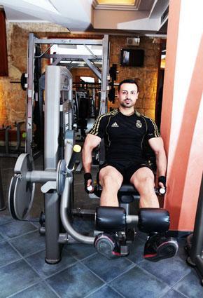 """جيمي مقدسي لـ""""رائد"""": هذا أفضل نظام غذائي ورياضي لبناء العضلات"""