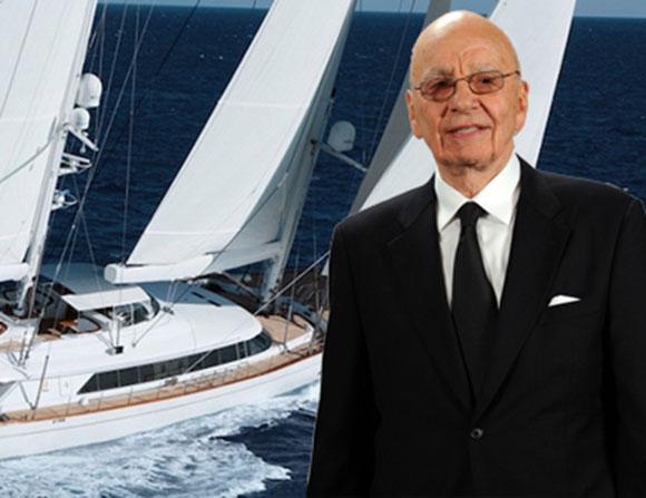 روبرت مردوخ يعرض يخته للبيع بـ 29.7 ملايين دولار
