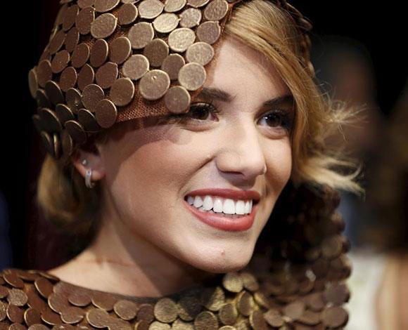 بالصور... أزياء من الشوكولا في بيروت