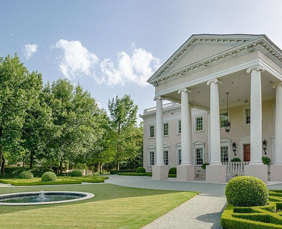 القصر الفخم شبيه البيت الأبيض في دالاس بـ 15 ملايين دولار