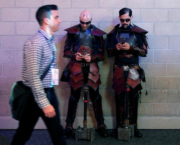 بالصور: معرض اكسبو للالعاب الالكترونية لعام 2016