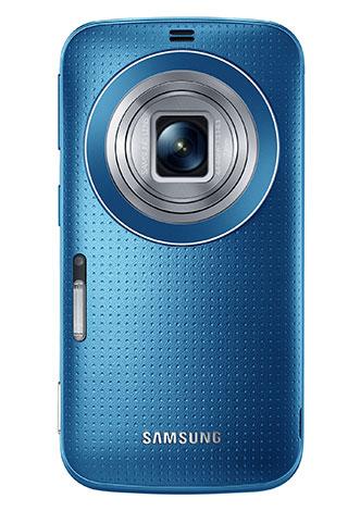 غالاكسي كيه زووم من سامسونغ: هاتف جديد بكاميرا دقتها 20.7 ميغابكسل