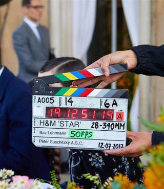 باز لوهرمان يتحدث عن فيلمه السينمائي لعلامة H&M