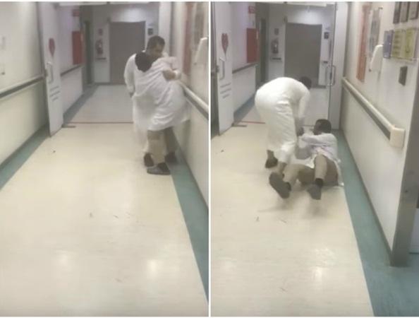 بالفيديو: طعن طبيب سعودي داخل المستشفى!