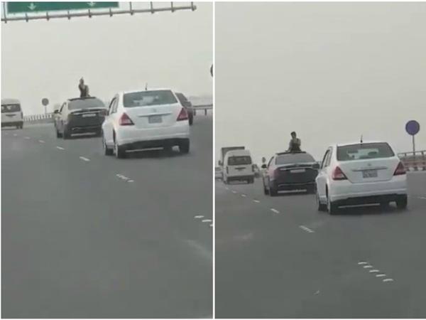 بالفيديو: امرأة تثير ضجة في البحرين!