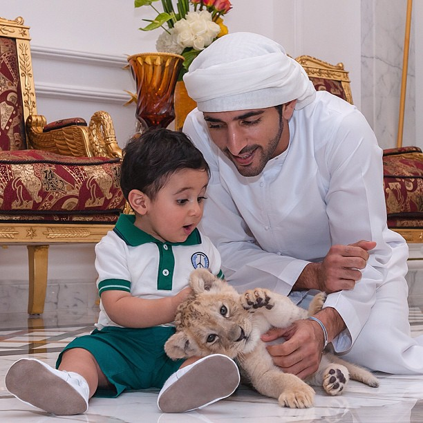 الأمير حمدان ولي عهد إمارة دبي ... نجم الإنستغرام بلا منازع