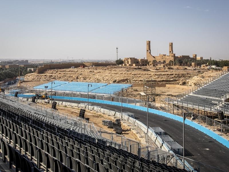 """الكشف عن مضمار سباق """"السعوديّة للفورمولا إي– الدرعية 2018"""""""