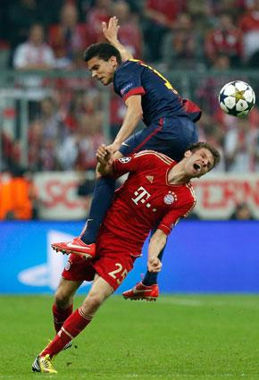 بعد خسارتها الفاضحة أمام ألمانيا... إسبانيا تكابد للوصول إلى نهائي ويمبلي