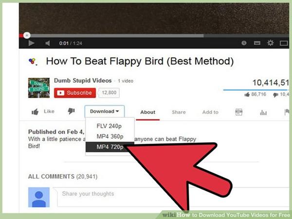 تحميل فيديو من اليوتيوب