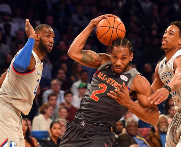 بالصور .. مباراة نجوم العالم في  الـ NBA