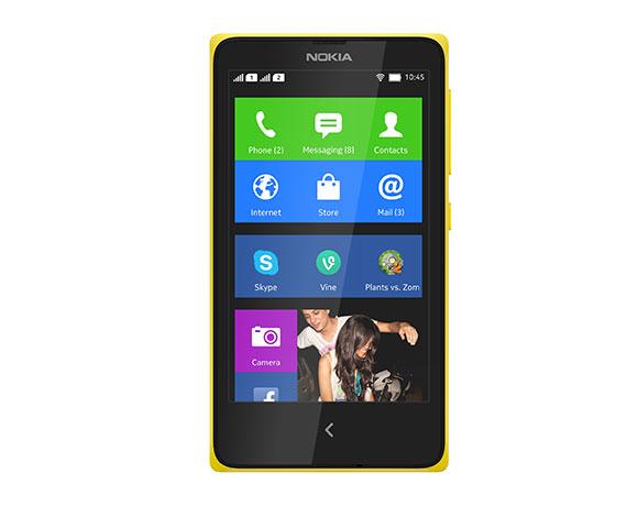 طرح هاتف Nokia X للبيع في الإمارات العربية المتحدة