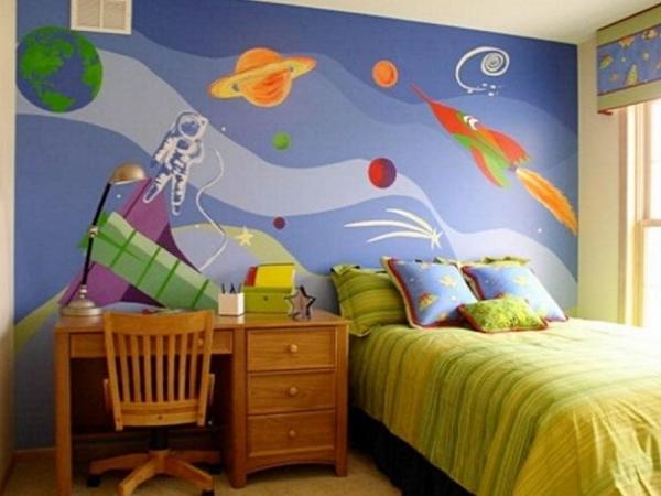 ورق جدران غرف أولاد   Ra2ed