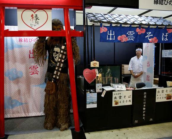 """بالصور معرض الألعاب الالكترونية """"كومي كون"""" في اليابان"""