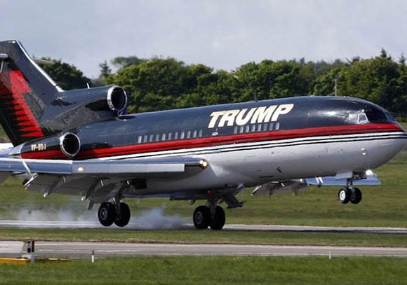 تعرف إلى مواصفات طائرة الملياردير دونالد ترامب الخاصة