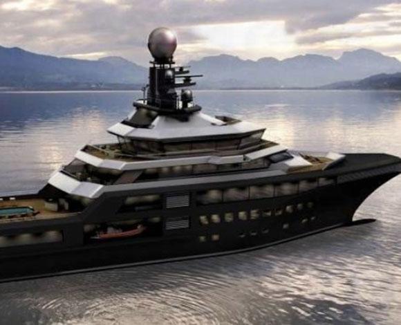 يخت بالمر جونسون وورلد تحفة رائعة بـ 150 مليون دولار