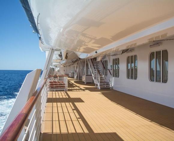 أطول رحلة بحرية في العالم تستغرق 245 يوما وتمر بـ113 ميناء دوليا
