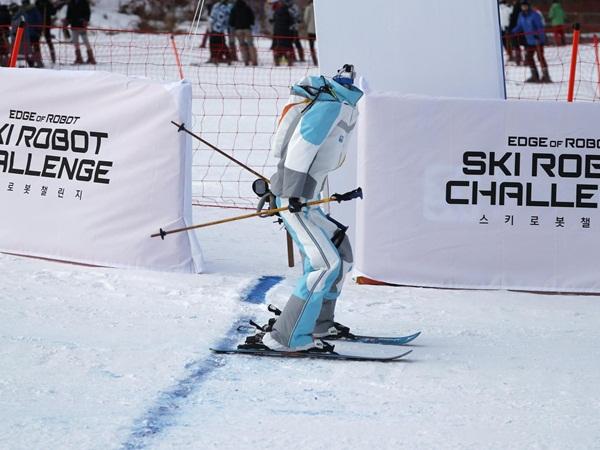 آليون يتزجلون ويتدحرجون على المنحدرات في دورتهم للألعاب الأوليمبية
