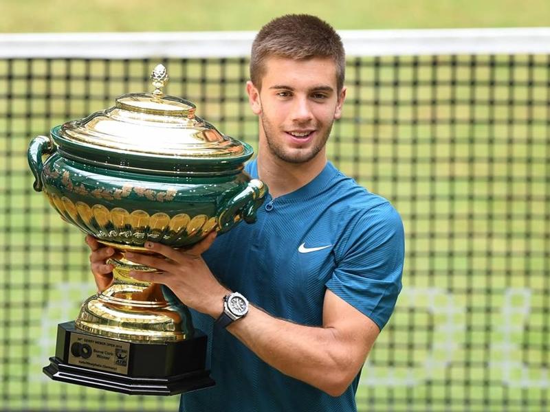 أفضل لاعبي التنس الجدد في بطولة ويمبلدون 2018