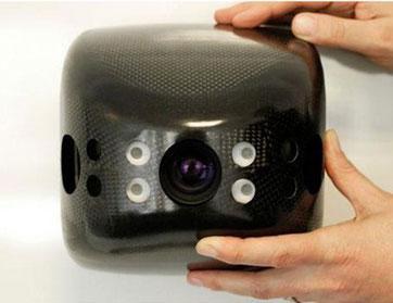 كاميرا طائرة للمراقبة ثلاثية الأبعاد