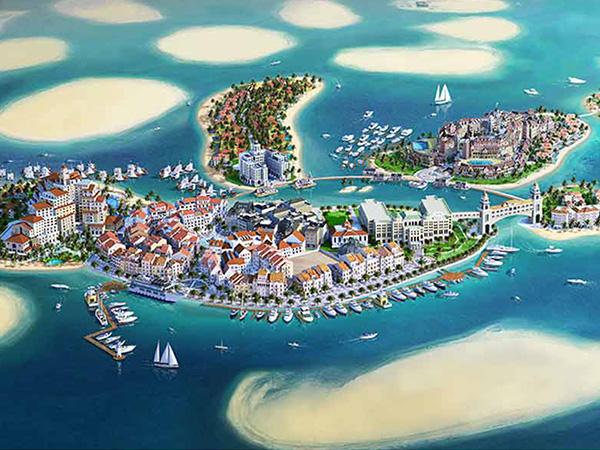 إلى الأزواج والعشّاق... جزيرة حُب تنتظركم في دبي
