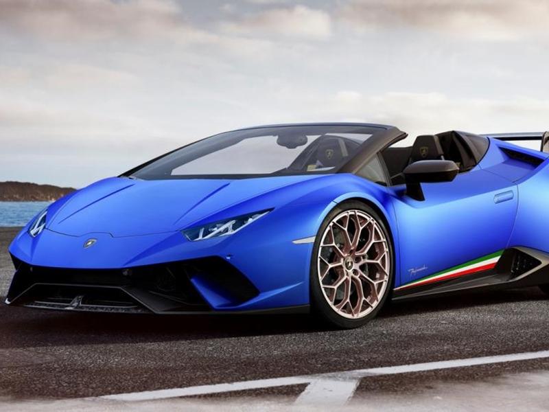 نظرة على موديل Lamborghini Huracán Performante Spyder  لعام 2019