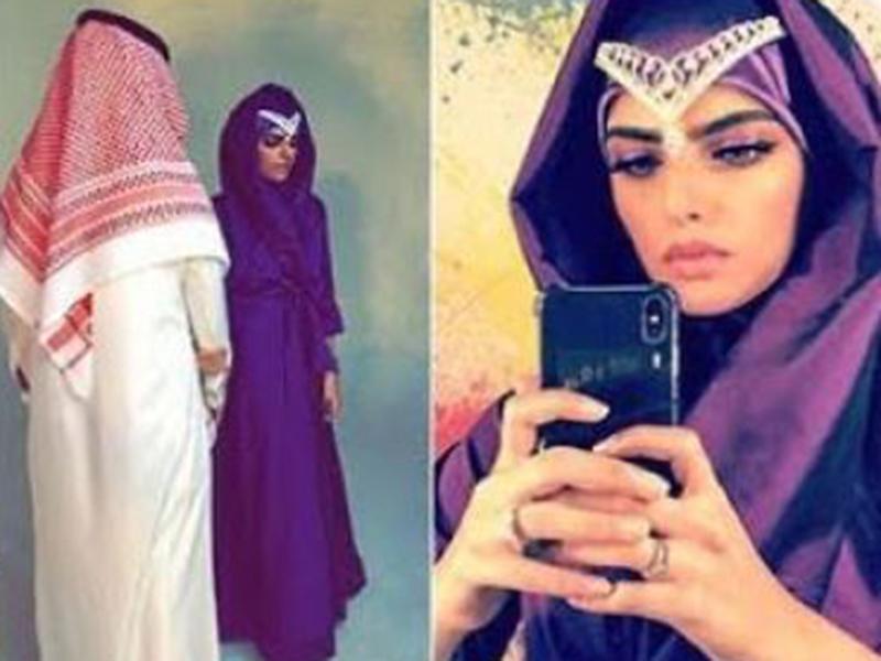 اضغط لمشاهدة الفيديو أول ظهور لزوج السعودية سارة الودعاني Ra2ed