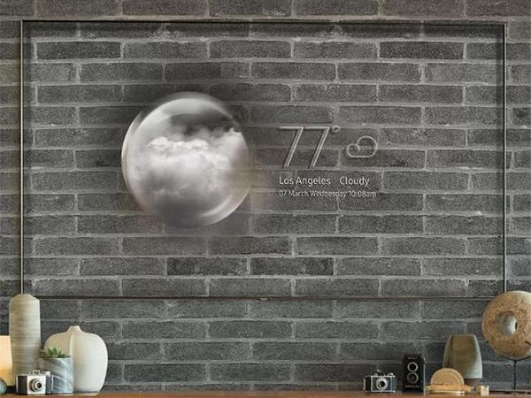 ابتكار جديد... شاشة سامسونج هذه تختفي عندما لا تستخدمها