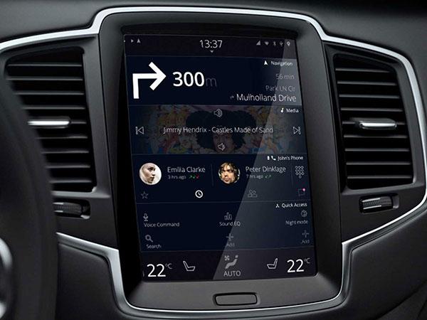 سيارات فولفو باتت أكثر ذكاءً من خلال ضمّها نظام جوجل
