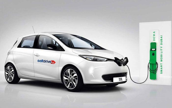 الآن .. يمكنك تأجير سيارة كهربية في دبي ب 5 دراهم في الساعة