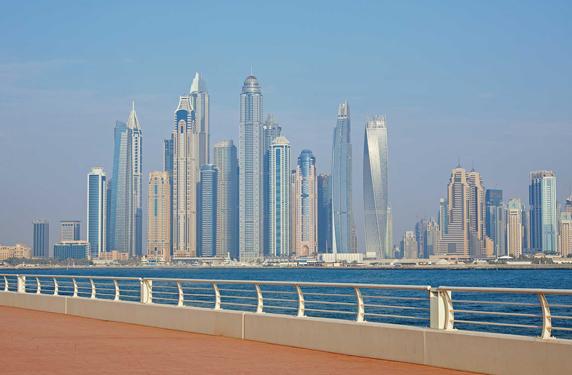 ناطحات سحاب دبي من بين الأكثر تنافسية في العالم