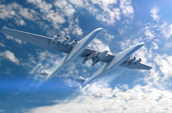 الملياردير بول ألين يقوم بتصنيع طائرة عملاقة... تعرف إليها