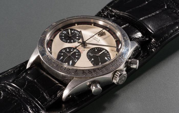 بيع ساعة رولكس التي كان يرتديها بول نيومان ب 17 مليون دولار !