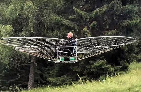 مهندس سويدي يبتكر سجادة طائرة .. شاهدها واكتشف مزاياها !