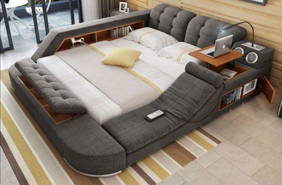 سرير الأحلام... مزود بسماعات وكرسي تدليك وجاكوزي