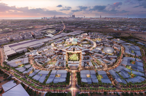 الكشف عن المنطقة التي سيقام بها معرض اكسبو 2020 في امارة دبي