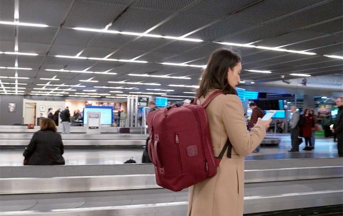 زوجان يبتكران تلك الحقيبة لتجنب فحص الأمتعة ودفع رسوم عليها في المطارات