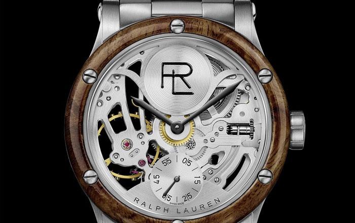 هذه هي النسخة الجديدة من ساعة Automotive Skeleton انتاج رالف لورين