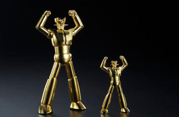 شركة يابانية تُصَنِّع تمثالاً ذهبياً لبطل القصص المصورة مازنجر
