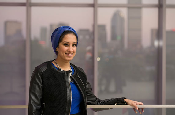 """بيريهان أبو زيد لـ""""رائد"""": ريادة الأعمال هي أفضل طريق باتجاه تحقيق الحلم"""