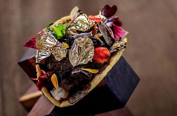 أغلى شطيرة تاكو في العالم يبلغ سعرها 25 ألف دولار!
