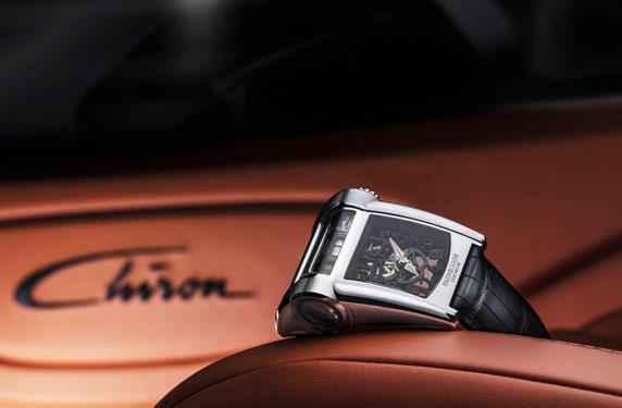 Parmigiani تنتج إصدارا حصريا من ساعة مستوحاة من بوجاتي شيرون