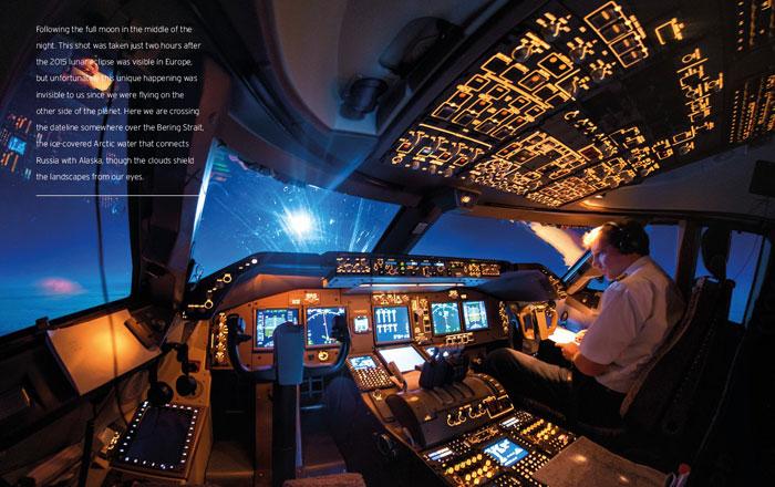 طيار يحظي بشهرة واسعة على انستجرام بفضل صوره الفريدة !